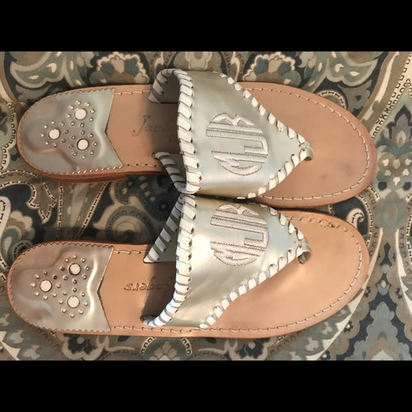 dcb53c5df7ae1 Women's monogrammed Jack Rogers sandals